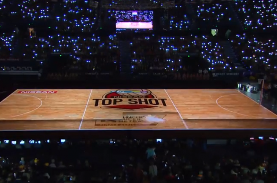 Projection mapping at Suncorp Supernetball Grand Final
