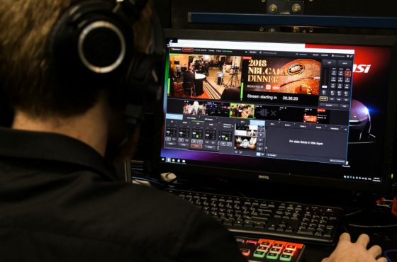 Live streaming-behind the scenes at the NBL